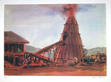 Furnace Collectable Print by Arthur Seiden