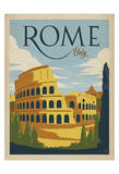 Rome, Italy Poster by  Anderson Design Group