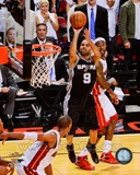 Tony Parker Game 1 of the 2013 NBA Finals Action Photo