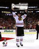 Jonathan Toews with the Stanley Cup Game 6 of the 2013 Stanley Cup Finals Photo