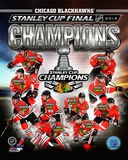 Chicago Blackhawks 2013 NHL Stanley Cup Champions Composite Photo