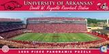 Arkansas Razorbacks 1000 Piece Panoramic Puzzle Jigsaw Puzzle