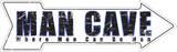 Man Cave Tin Sign Plaque en métal