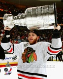 Patrick Kane with the Stanley Cup Game 6 of the 2013 Stanley Cup Finals Photo