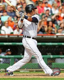 Victor Martinez 2013 Action Photo