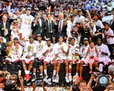 The Miami Heat Celebrate Winning Game 7 of the 2013 NBA Finals Photo