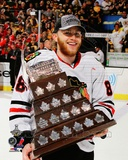 Patrick Kane with the Conn Smythe Trophy Game 6 of the 2013 Stanley Cup Finals Photo