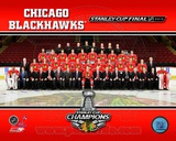 Chicago Blackhawks 2013 NHL Stanley Cup Champions Team Sit Down Photo Photo