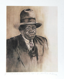 Meet Big Daddy, Without His Cigar Collectable Print by Theadius McCall