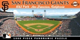 San Francisco Giants 1000 Piece Panoramic Puzzle Jigsaw Puzzle