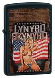 Lynyrd Skynyrd Patriotic Black Matte Zippo Lighter Lighter