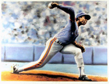 The Delivery (New York Mets Dwight Gooden) Prints by Jack Lane