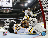 Tuukka Rask 2012-13 Playoff Action Photo