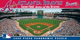 Atlanta Braves 1000 Piece Panoramic Puzzle Jigsaw Puzzle