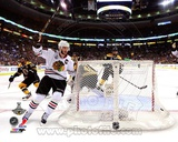 Jonathan Toews goal celebration Game 6 of the 2013 Stanley Cup Finals Photo