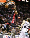 Dwyane Wade Game 4 of the 2013 NBA Finals Action Photo