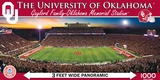 Oklahoma Sooners 1000 Piece Panoramic Puzzle Jigsaw Puzzle