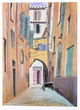 Alleyway Collectable Print by Arthur Seiden