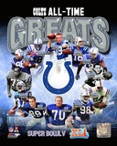Indianapolis Colts All Time Greats Composite Photo