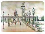 Paris-01 Collectable Print by Rolf Rafflewski