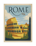 Rome, Italy Print by  Anderson Design Group