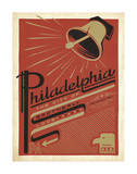 Philadelphia, Pennsylvania: The City Of Brotherly Love Posters by  Anderson Design Group
