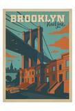 Brooklyn, New York Plakater af  Anderson Design Group
