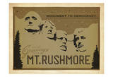 Mt. Rushmore: Monument To Democracy Posters by  Anderson Design Group