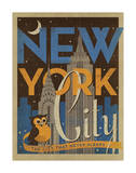 New York City: The City That Never Sleeps Poster by  Anderson Design Group