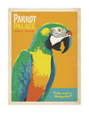 Parrot Palace Poster di  Anderson Design Group