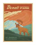 Parque nacional Denali Pósters por Anderson Design Group