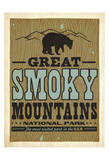 Great Smoky Mountains National Park: The Most Visited Park in the USA Póster por Anderson Design Group