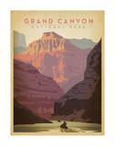 Grand Canyon National Park Art by  Anderson Design Group