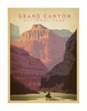 Parque Nacional del Gran Cañón Arte por  Anderson Design Group