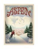 Skiing, Aspen, Colorado Arte por  Anderson Design Group