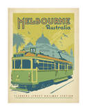 Melbourne, Australie Affiche par  Anderson Design Group