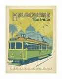 Melbourne, Australien Kunstdruck von  Anderson Design Group
