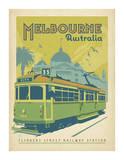 Melbourne, Australia Lámina por Anderson Design Group