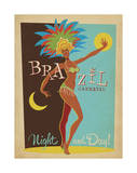 Brazil Carnaval Night And Day! Art by  Anderson Design Group