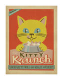 Kitty Krunch Prints by  Anderson Design Group