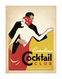 Catalina Cocktail Club Posters by  Anderson Design Group