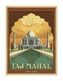 Taj Mahal, India Giclée-tryk af Anderson Design Group