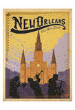 New Orleans: The Big Easy Plakater af Anderson Design Group