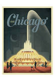 Visit Chicago Poster par  Anderson Design Group