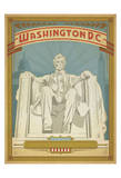 Washington, D.C. (Lincoln Memorial) Prints by  Anderson Design Group