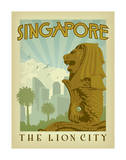 Singapore: The Lion City Print by  Anderson Design Group