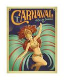 Anderson Design Group - Carnaval Rio de Janeiro Umělecké plakáty