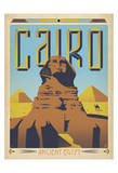 Cairo Ancient Egypt Poster af Anderson Design Group