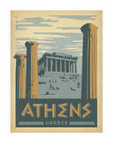 Athens, Greece Prints by  Anderson Design Group