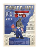 Power-Up! (Donkey) Posters by  Anderson Design Group
